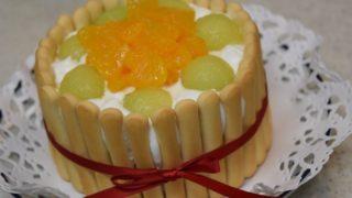 1歳用誕生日ケーキ