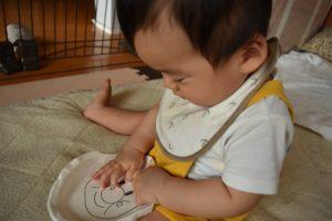手作りおもちゃ_紙皿