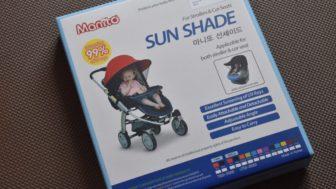 マジカルエアープラスAC用サンシェード Manito Newサンシェードを購入。